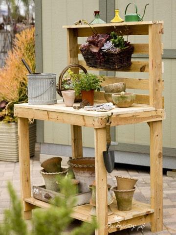 Столик для огорода своими руками 51