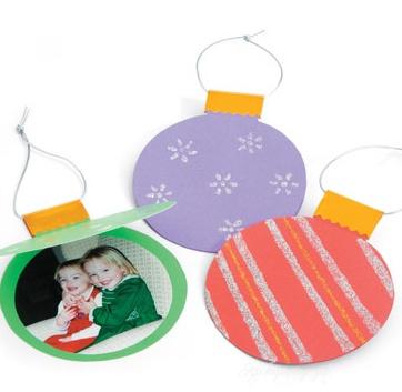 Ёлочные шары для детей из бумаги