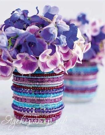 vase for flowers1 Декор своими руками: в поисках оригинальных ваз для цветов.