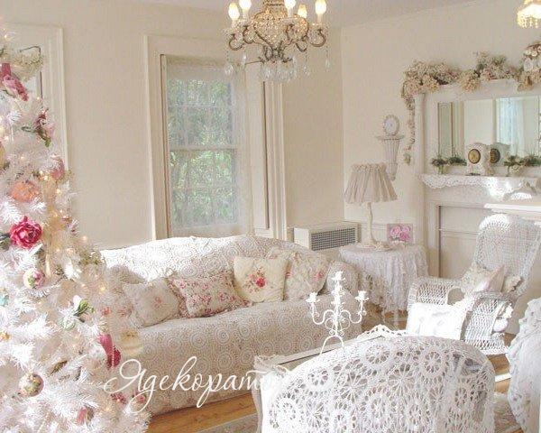 Шебби-шик в винтажных розах: романтические идеи для дома и сада.