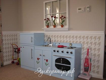 Кукольные кухни своими руками