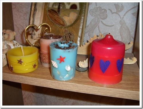 Как сделать оригинальные свечи