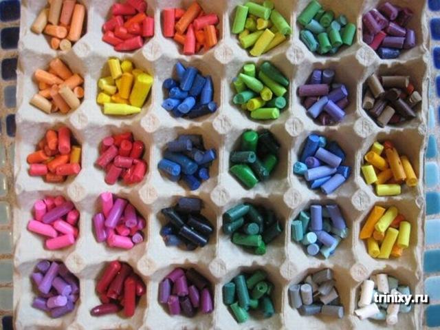 Можно привлечь к творческому процессу и маленьких детей, им всегда бывает интересно делать разнообразные поделки.