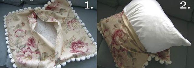 Сшить наволочку на диванную подушку своими руками