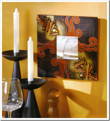 Как декорировать зеркало из Икеи