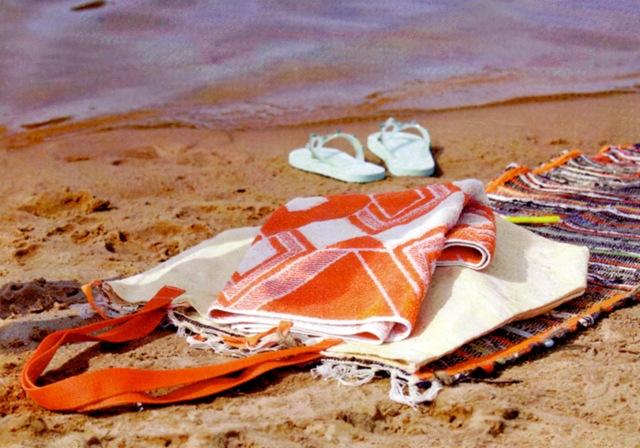 Пляжная сумка-трансформер своими руками Умелые ручки