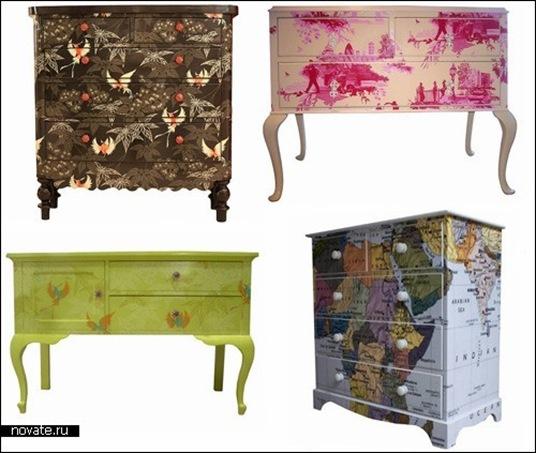 Идеи для росписи мебели