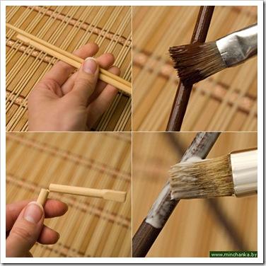 Как сделать шашлычные палочки 47