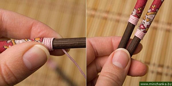 Как сделать палочки для волос своими руками