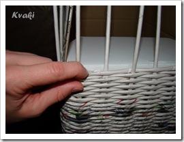 Плетеная корзина своими руками
