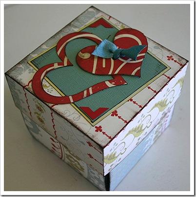 Как украсить коробку своими руками на новый