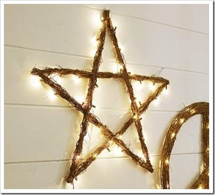 Как сделать новогоднюю звезду