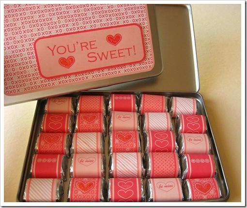 Как сделать коробку с конфетами с пожеланиями