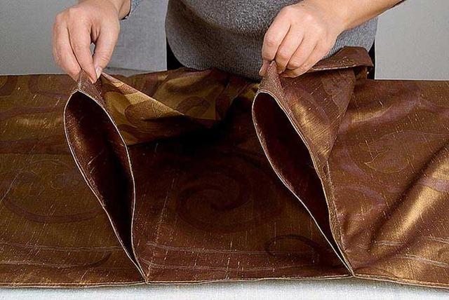 Как сшить римскую штору