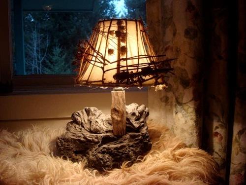 Сделать светильник в спальню своими руками