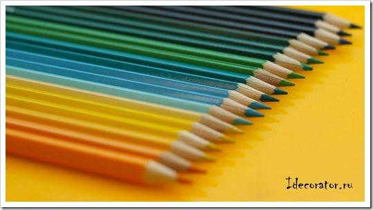 Ваза из карандашей своими руками